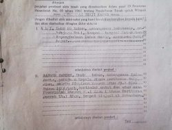 Jaksa Agung  Di Desak Usut Aset Dinas Perikanan Propinsi Riau Beralih Ke Perusahaan CPO Di Lubuk Gaung