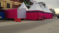 Pemko Dumai Di Harap Buat Aturan Larangan Mendirikan Tenda Untuk Pesta Pernikahan Di Jalan Umum