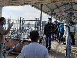 Pelabuhan Dumai Jadi Pintu Kepulangan Pekerja Migran Indonesia
