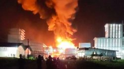 Kebakaran Pabrik PT Sari Dumai Oleo