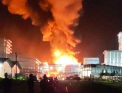 Telan 5 Korban Jiwa Dalam Kebakaran Pabrik PT Sari Dumai Oleo